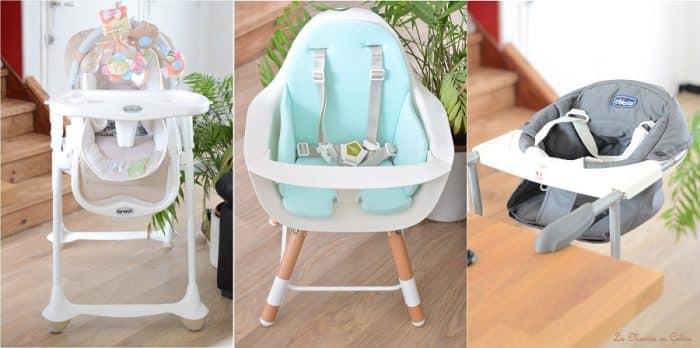 plusieurs chaises hautes de bebe