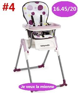 meilleure chaise babymoov
