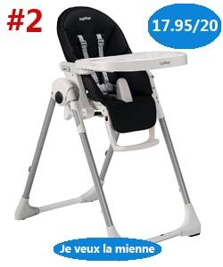 meilleure chaise peg perego