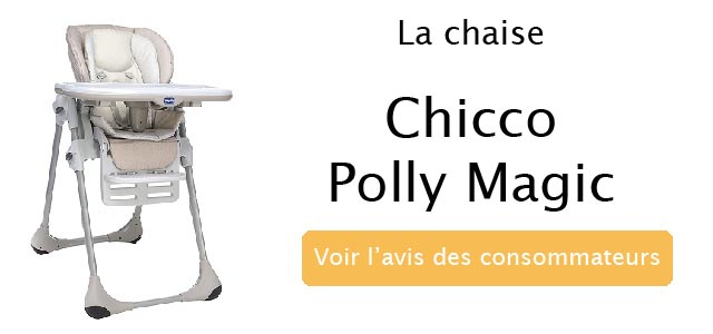 avis sur la chaise polly magic