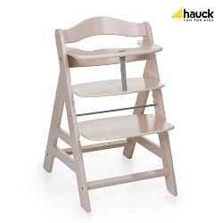 chaise de bébé hauck en bois