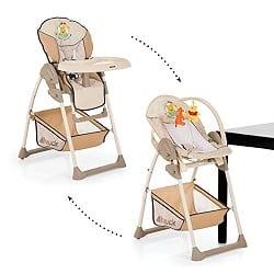 fonctionnement de la chaise haute de bébé hauck sitn relax