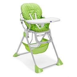 chaise haute de bébé chicco pocket lunch verte