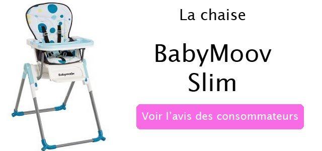 avis sur la chaise babymoov-slim