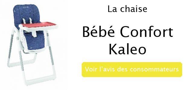 avis sur la chaise haute kaleo