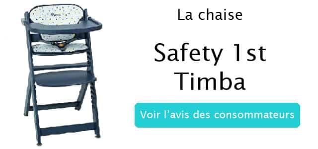 l'avis des mamans sur la chaise haute timba safety 1st