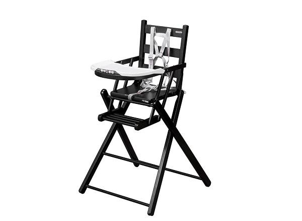 Combelle Chaise Extra-Pliante Laquée Noir