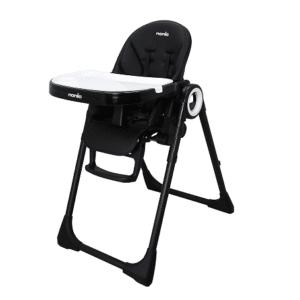 Chaise haute CARLA inclinable, réglable en hauteur 7 positions