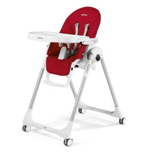 Chaise haute Peg Perego Prima Pappa Zero 3 rouge