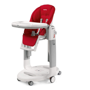 Chaise haute Peg Perego Tatamia rouge