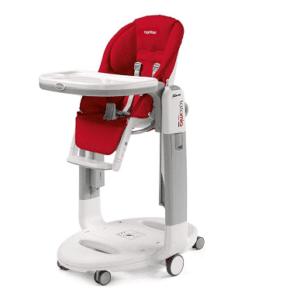 Chaise haute Peg Perego Tatamia rouge